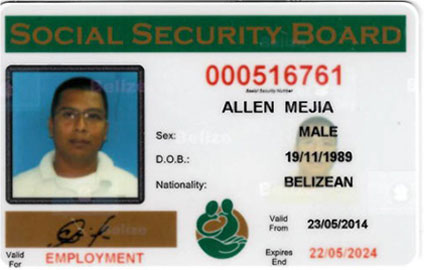 Ssb-card-front-image Security Belize Social Board -