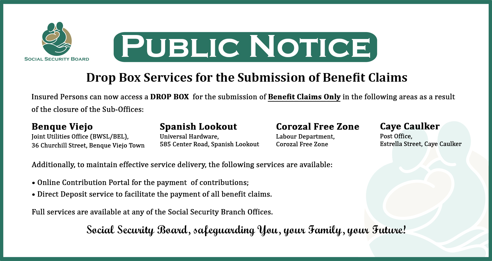 Latest News - Belize Social Security Board